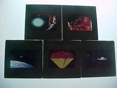 Forbidden Planet Slides Lot of 5 vintage 1956 Sci-Fi Movie rare