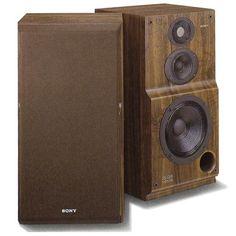 SONY SS-G55   1991 Sony Speakers, Monitor Speakers, Bookshelf Speakers, Floor Standing Speakers, Hifi Audio, Loudspeaker, Audio Equipment, Audiophile, Retro Vintage