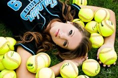 Softball senior pictures #photography