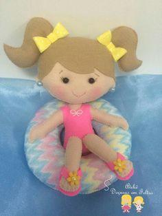 Lindinha boneca de feltro  Amei❤️