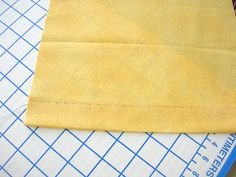 Sewing a blind hem