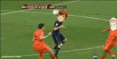 Hetalia FIFA World Cup Netherlands vs. Spain.<--- ....A-at least we had fun~