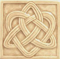 celtic tile - love these tiles - don't know what it means - just like the design.