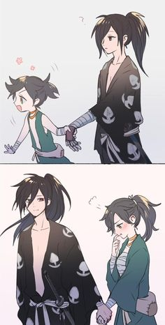 Dororo Shitttt this too cute Anime Art anime art cute Dororo Shitttt Anime Love Couple, Cute Anime Couples, Anime Comics, Manga Japan, Manga Anime, Fan Art Anime, Estilo Anime, Anime Kunst, Dark Fantasy