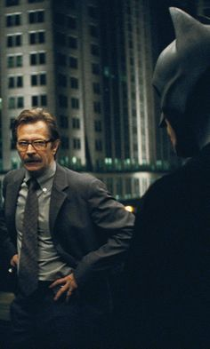 Gary Oldman! This movie is just a manna of fine actors.
