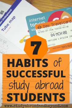 7 Habits of Successful Study Abroad Students | Study Abroad and Beyond