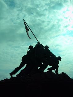 Marine Corps War Memorial. Arlington,