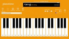 Piano Time // Piano Time is a multitouch piano with 36 visible keys and 4 selectable octaves. With a configurable metronome, users can learn to play the piano or practice their skills, as well as record and playback unlimited songs. Piano Time supports multitouch screen, keyboard, and mouse input.