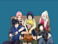 Naruto and Sasuke look weird.I do like NaruHina and SaiIno, but not SasuSaku 'cause I know it'll never happen. Naruko Uzumaki, Naruto Shippuden Sasuke, Anime Naruto, Naruhina, Naruto E Sakura, Naruto Und Hinata, Naruto Sasuke Sakura, Wallpaper Naruto Shippuden, Naruto Cute