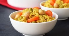 Baked Curry Risotto (One Pot, No Stir, Easy, Vegan & Creamy!)