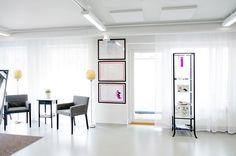 Beauty salon, interior design. Kauneushoitola, sisustussuunnittelu. Skönhetssalong inredningsdesign.