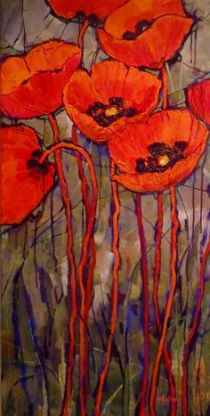 Gentil Coquelicot Mesdames ♫... #Poppies -- By Carol Nelson