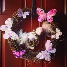 Spring sommer door wreath