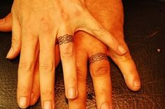 Image detail for -celtic rings wedding ring tattoo designs | Exciting Tattoos