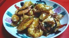 Dry-Fried Prawns Recipe 干煎虾食谱