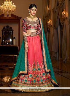 Raw Silk Lehenga, Pink Lehenga, Indian Lehenga, Lehenga Saree, Bridal Lehenga, Silk Dupatta, Wedding Lehnga, Anarkali, Wedding Dresses