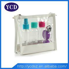 Customized PVC Cosmetic Bag PVC Zipper Bag Toiletry Bag