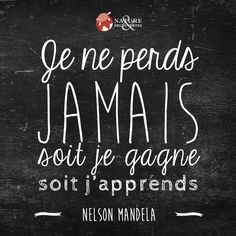Quotes and inspiration QUOTATION – Image : As the quote says – Description Sagesse Plus Sharing is. Nelson Mandela, Positive Mind, Positive Attitude, Positive Quotes, Quote Citation, French Quotes, Visual Statements, Positive Affirmations, Cool Words
