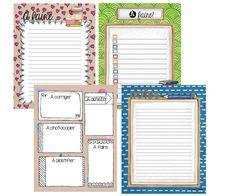 Mme Marie-Julie : Cahier de planification 2016-2017 Organization Bullet Journal, Teacher Organization, Planner Organization, Organizing, Agenda Planner, Teacher Planner, First Day Of School, Back To School, School Stuff