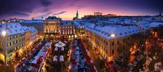 Why you should never visit Slovakia. - Internships and placements in Europe: Germany, UK, Spain. Christmas In Europe, Christmas Markets, Christmas Destinations, Bratislava Slovakia, In The Zoo, Heart Of Europe, European Countries, Capital City, Malaga