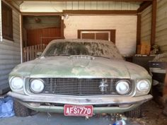 1969 Ford Mustang Sportsroof Garage Find #Ford, #Mustang