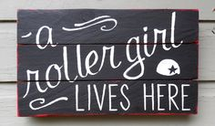 Queen of the roller derby  by maud starr on Etsy