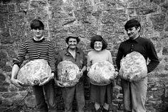 Bread for the week in Poilley - Brittany, by Madeleine de Sinéty, 1993