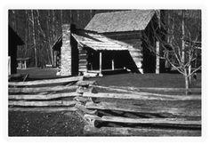 The Ogle cabin in White Oak Flats aka Gatlinburg, TN - Martha Jane Huskey Ogle was my grandfather's GGG-grandmother