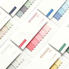Expression foglietti adesivi mini Paper scratch Pad Art ufficio cancelleria 1/set