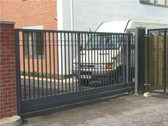 e are providing installation services for sliding gates. Call Us For Sliding Gates Metal Gates, Iron Gates, Iron Doors, Garage Gate, Fence Gate, Fences, Tor Design, Fence Design, Sliding Gate