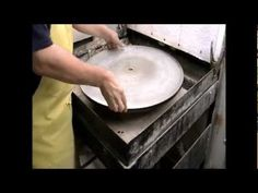▶ Art Glass Grinding Wheel Demonstration - YouTube