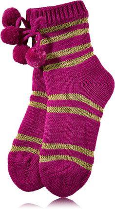 Pink Luxe Lounge Socks - Bath & Body Works   - Bath & Body Works