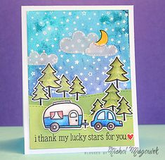 Lawn Fawn Intro: Happy Trails + Starry Backdrops
