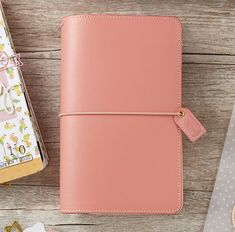 Websters Pages - Color Crush Collection - Travelers Planner - Pretty Pink