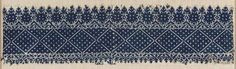 Embroidery      Moroccan   Dimensions      Overall (old dimensions retained): 12 x 90 cm (4 3/4 x 35 7/16 in.)  Medium or Technique      Cotton and silk; embroidery  Classification      Textiles   Accession Number      22.235
