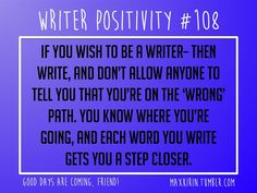For All Your Writerly Needs! : Photo