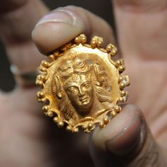 Ancient Jewelry Treasures Unearthed - Archaeologists have discovered a 2,400-year-old golden hoard in an ancient Greek tomb in Bulgaria. Gold jewelry was amongst the artifacts including four bracelets and a ring.