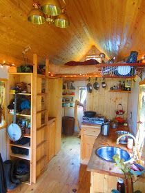 Relaxshacks.com: Hangin' at Ella Jenkins Tiny House in California- A photo tour....