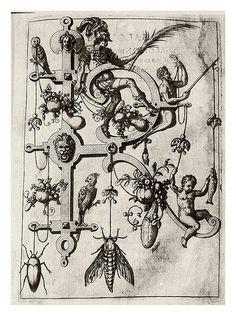 Sinfónica Caótica: Johann Theodor de Bry - Neiw Kunstliches Alphabet. (1595)