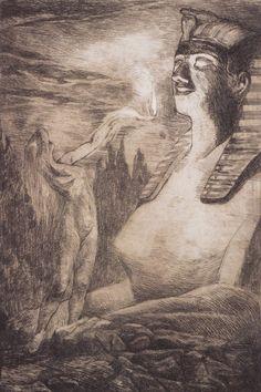Tyra kleen, Psyke och Sfinxen, 1901