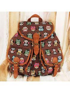 www.ewam.com Wise Owls Backpack