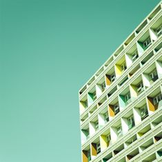 Architectural photos from Matthias Heiderich. Color and composition at its best.