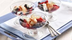 Add a refreshing twist to ice cream by topping it with a colorful fruit topping. It's made in 10 minutes!