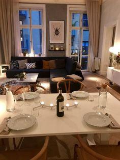Startsidan – Michaela Forni – cozy home comfy Dream Apartment, Apartment Interior, Apartment Living, Home Interior Design, Interior Architecture, Interior Decorating, Living Room Decor, Living Spaces, House Rooms