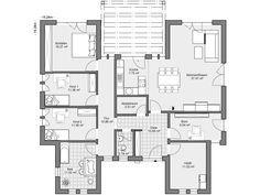 ber ideen zu grundriss bungalow auf pinterest bungalow bauen grundrisse und. Black Bedroom Furniture Sets. Home Design Ideas