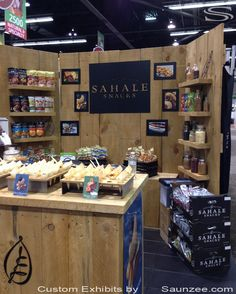 Trade show booths show booth and trade show on pinterest - Food booth ideas ...