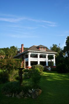 The Herlong Mansion in Micanopy -lived here for a year in the mid 80's before it was a BnB.  Lovely old home.