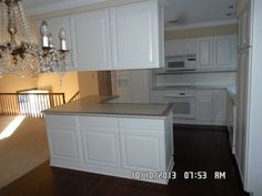 Kitchen Raised Ranch   Minus The Top Island Cabinets