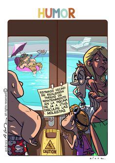 Humor Portero, perdón, Encargado!!! - Guion y dibujo - Revista UADI Informa