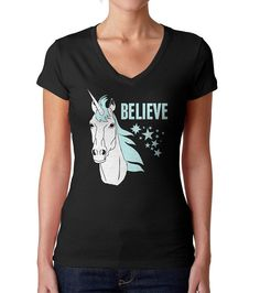 Believe in Unicorns TShirt  Unicorn TShirt  Mens and by boredwalk, $12.90